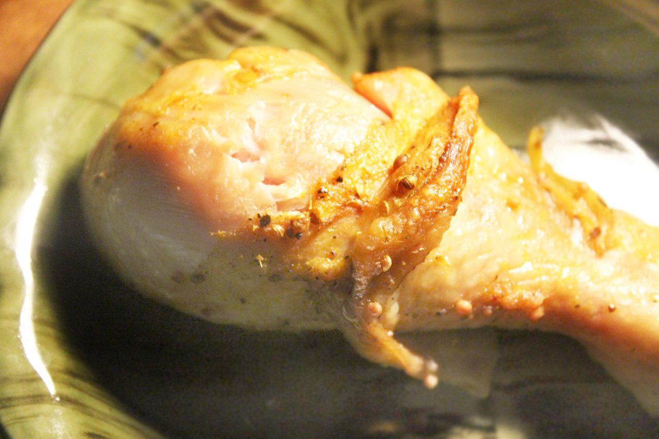 Куриные голени в горчичном маринаде с паприкой, в рукаве