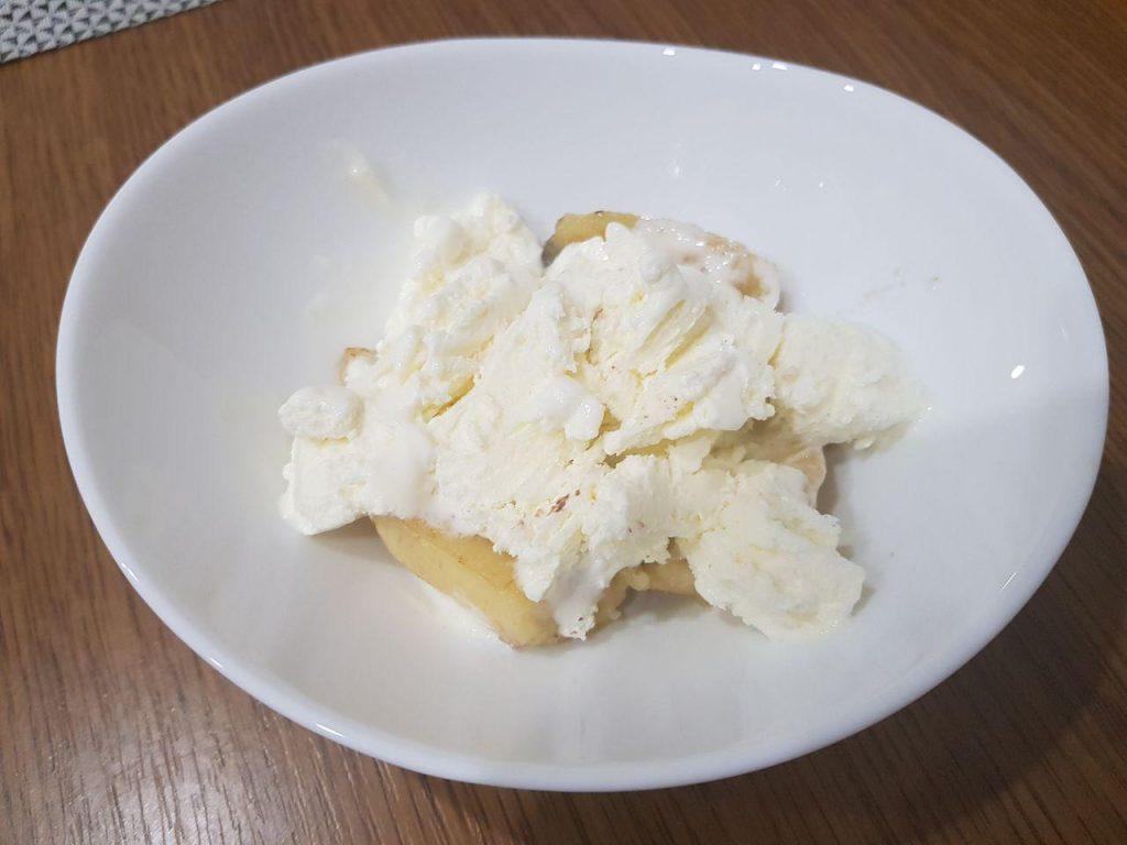 Фото рецепта - Мороженное с жаренными бананами, орехами и шоколадом - шаг 3