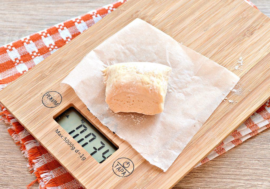 Фото рецепта - Сосиски в дрожжевом тесте, жаренные на сковороде - шаг 1