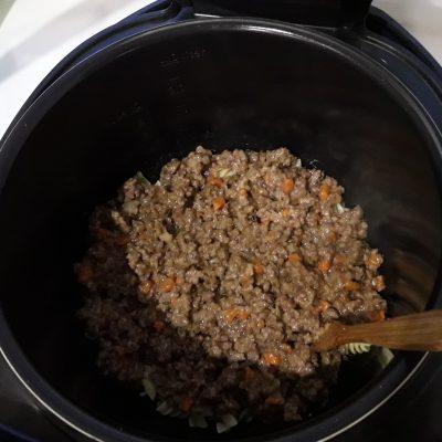 Фото рецепта - Макаронная запеканка с фаршем в мультиварке - шаг 9