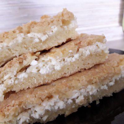 Фото рецепта - Пирог с творожной начинкой - шаг 9