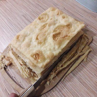 """Фото рецепта - Торт """"Наполеон"""" с заварным кремом - шаг 10"""