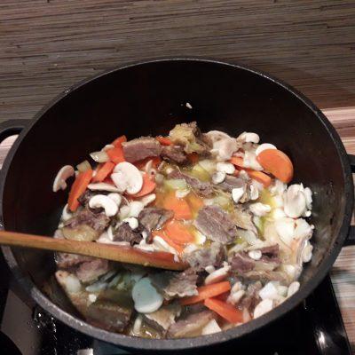 Фото рецепта - Рис с мясом и овощами - шаг 4