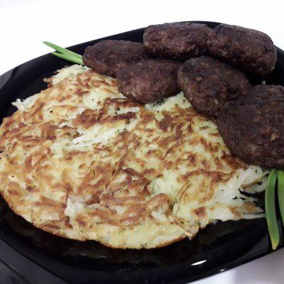 Ленивые картофельные драники - рецепт с фото