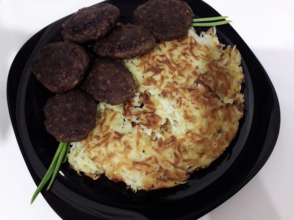Фото рецепта - Ленивые картофельные драники - шаг 7