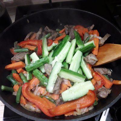 Фото рецепта - Овощное рагу с мясом говядины - шаг 9