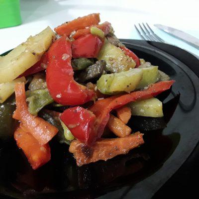 Овощное рагу с мясом говядины - рецепт с фото