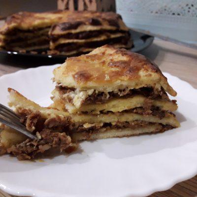 Фото рецепта - Лазанья с фаршем и сыром - шаг 9