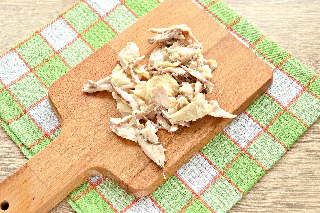 Фото рецепта - Суп на курином бульоне из готовой овощной солянки - шаг 3