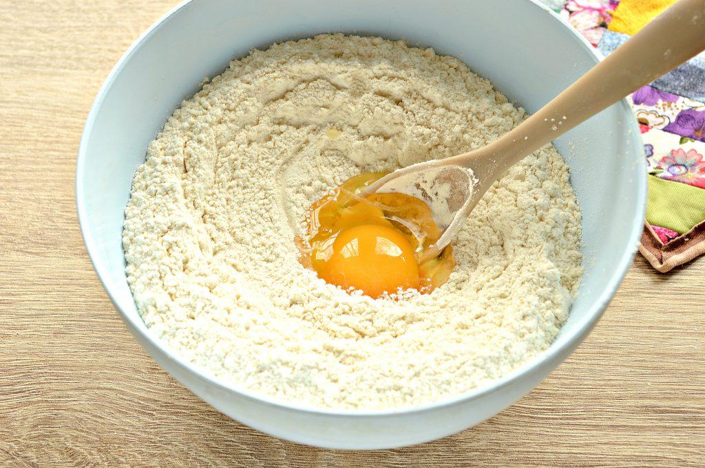 Фото рецепта - Дрожжевое тесто для пирогов на кислом молоке - шаг 4