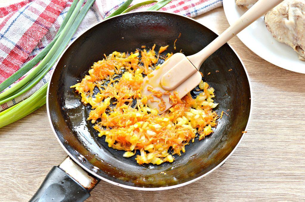 Фото рецепта - Куриный суп с макаронами без картофеля - шаг 4