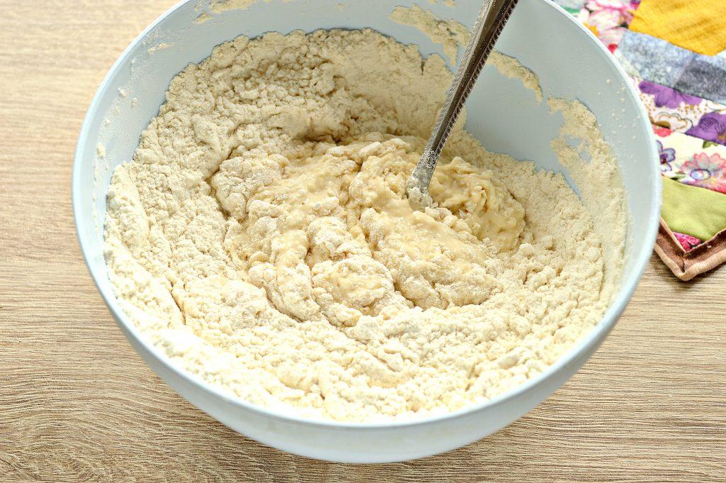 Фото рецепта - Дрожжевое тесто для пирогов на кислом молоке - шаг 6