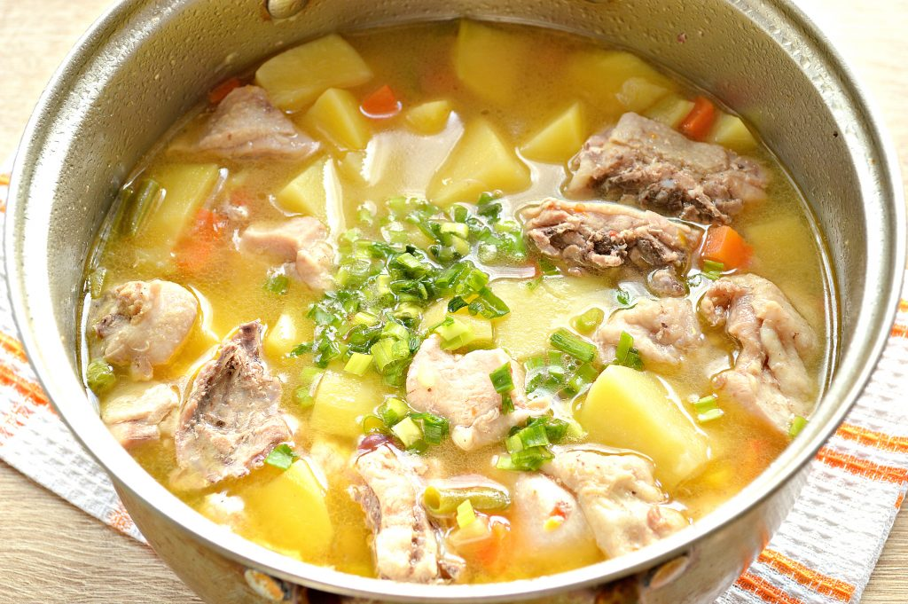 Фото рецепта - Курица кусочками с овощами и картофелем - шаг 7