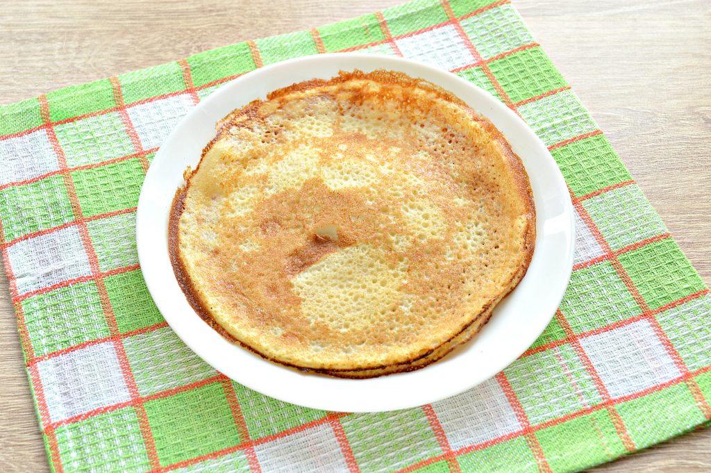 Фото рецепта - Блинчики тонкие по-французски - шаг 8