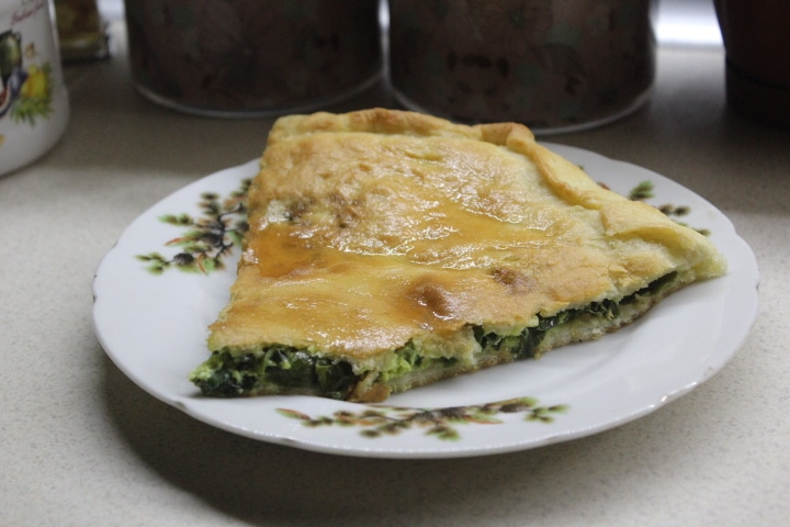 Фото рецепта - Чуду с зеленым луком (пирог) - шаг 11