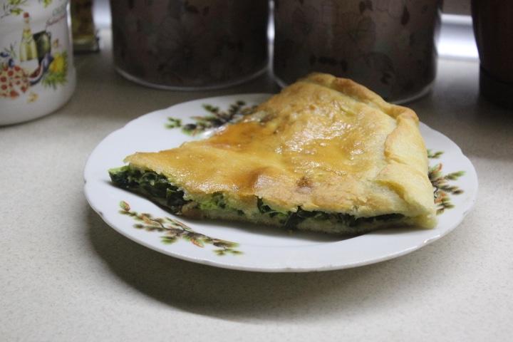 Фото рецепта - Чуду с зеленым луком (пирог) - шаг 12