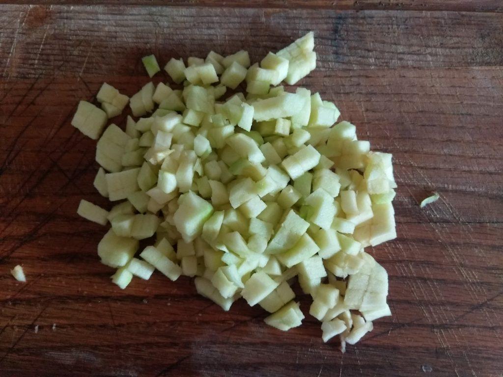 Фото рецепта - Яблочный кекс с корицей и мускатным орехом - шаг 1