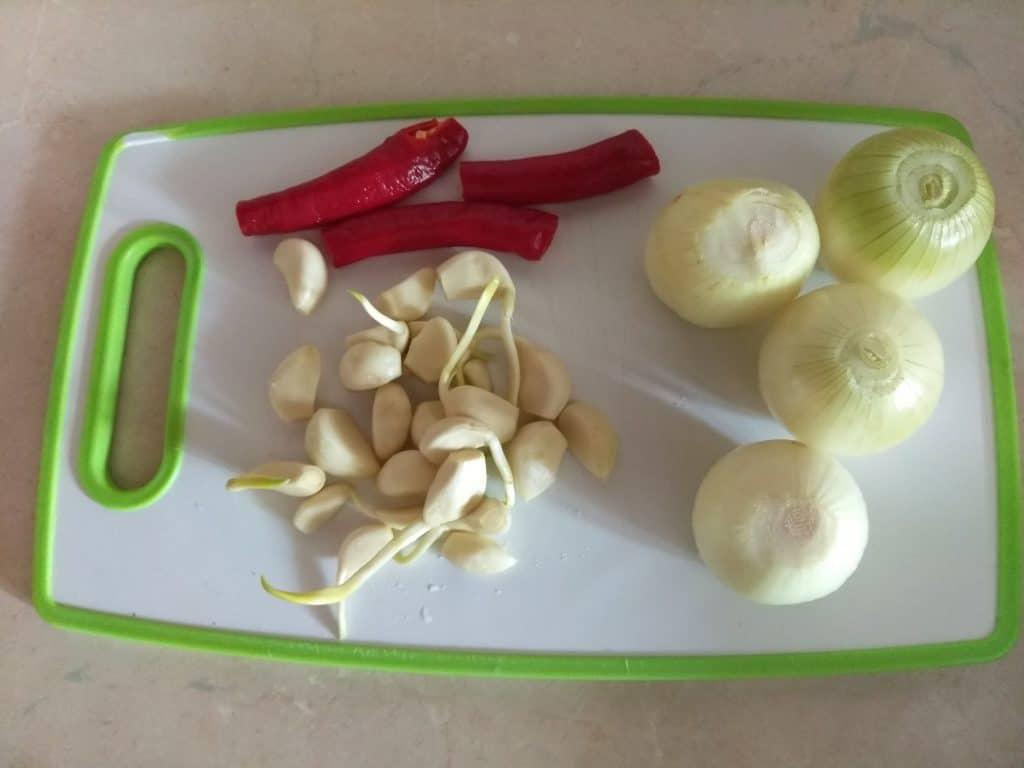 Фото рецепта - Баклажанная икра острая - шаг 2