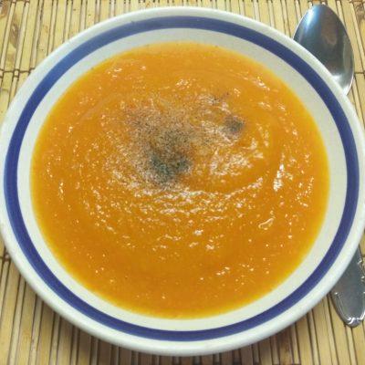 Суп-пюре из тыквы и моркови - рецепт с фото