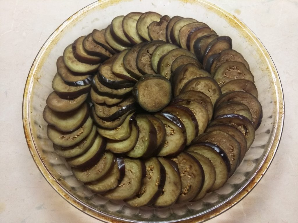 "Фото рецепта - Овощная запеканка ""Баклажаны пармеджана"" - шаг 1"