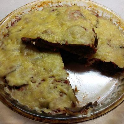 """Овощная запеканка """"Баклажаны пармеджана"""" - рецепт с фото"""