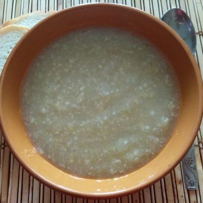 Крем-суп из корня сельдерея и яблок - рецепт с фото