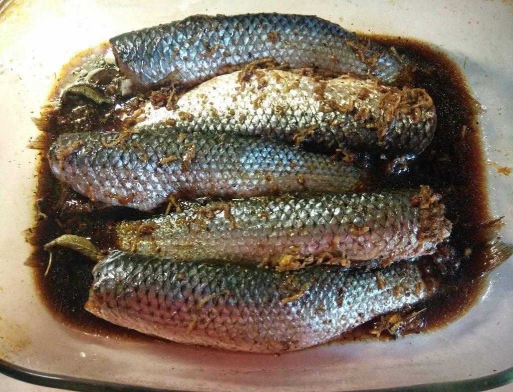 Фото рецепта - Пеленгас, маринованный в соевом маринаде - шаг 4