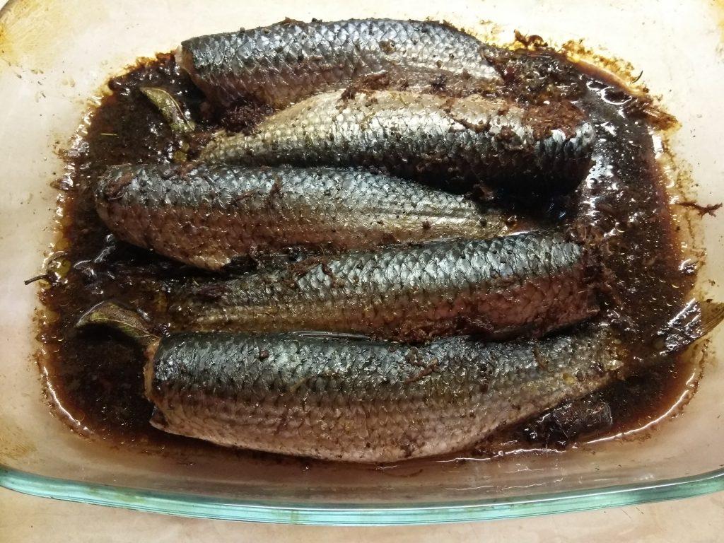 Фото рецепта - Пеленгас, маринованный в соевом маринаде - шаг 5
