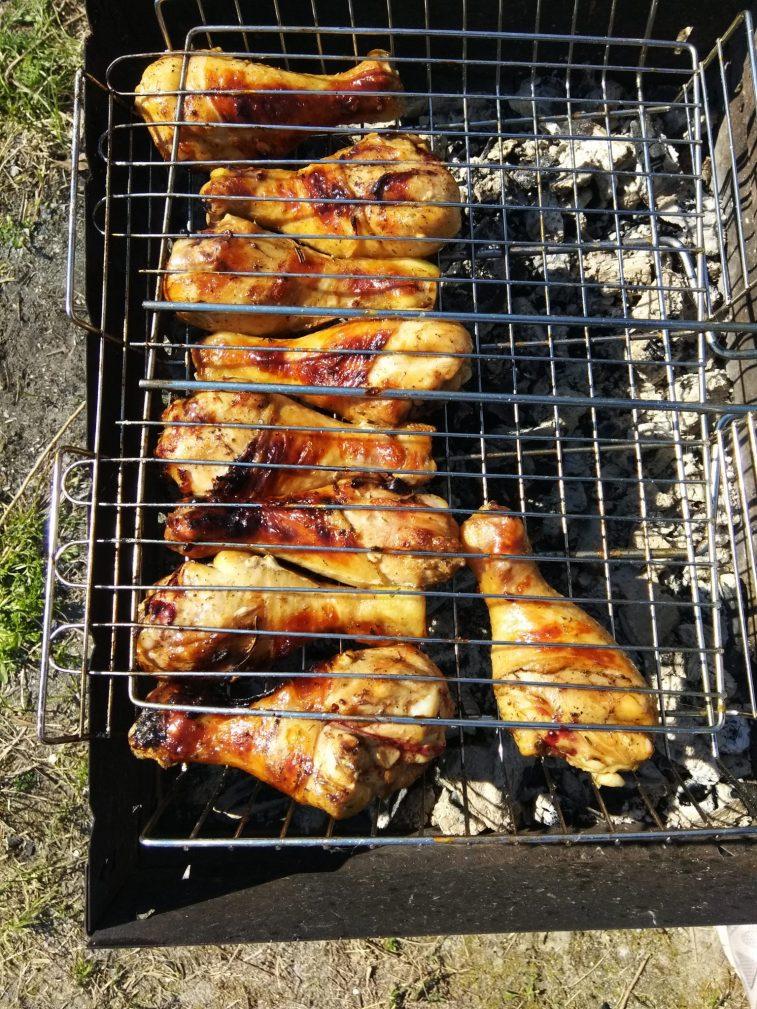 Фото рецепта - Куриные ножки в соевом маринаде для гриля - шаг 4