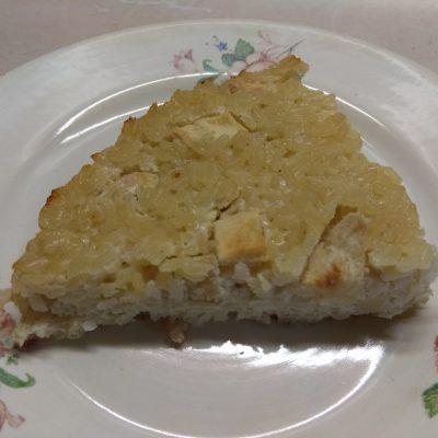 Рисовая запеканка на молоке с яблоками - рецепт с фото