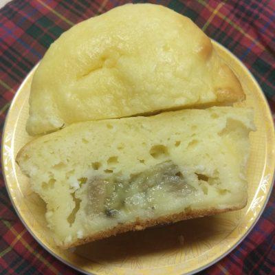 Творожные кексы с начинкой из банана и кокосовой стружкой - рецепт с фото
