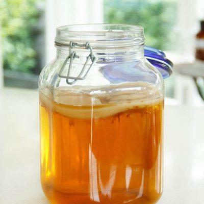 """Чай """"чайный гриб"""" - рецепт с фото"""