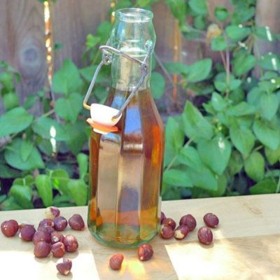 Ореховый медовый ликер (настойка) - рецепт с фото