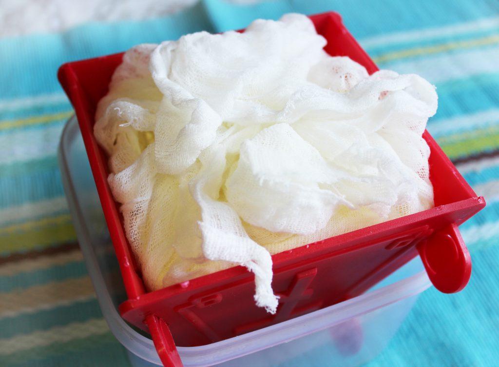 Фото рецепта - Творожная цитрусовая пасха на сливках - шаг 2