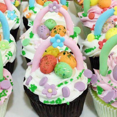 Пасхальные кексы с воздушным кремом - рецепт с фото