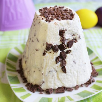 Шоколадная пасха из творога на сметане - рецепт с фото