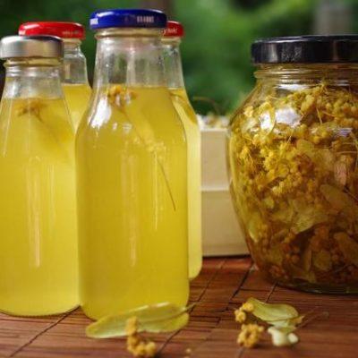 Сироп из цветов липы - рецепт с фото