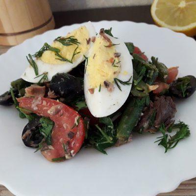 Салат с тунцом и стручковой фасолью - рецепт с фото