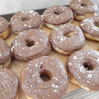 Фото рецепта - Донатс – американские пончики (жареные) - шаг 10