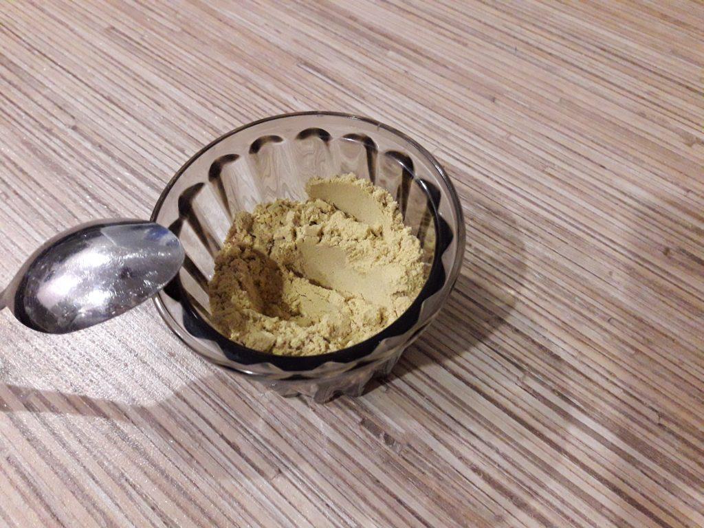 Фото рецепта - Горчица домашняя острая с рассолом - шаг 1