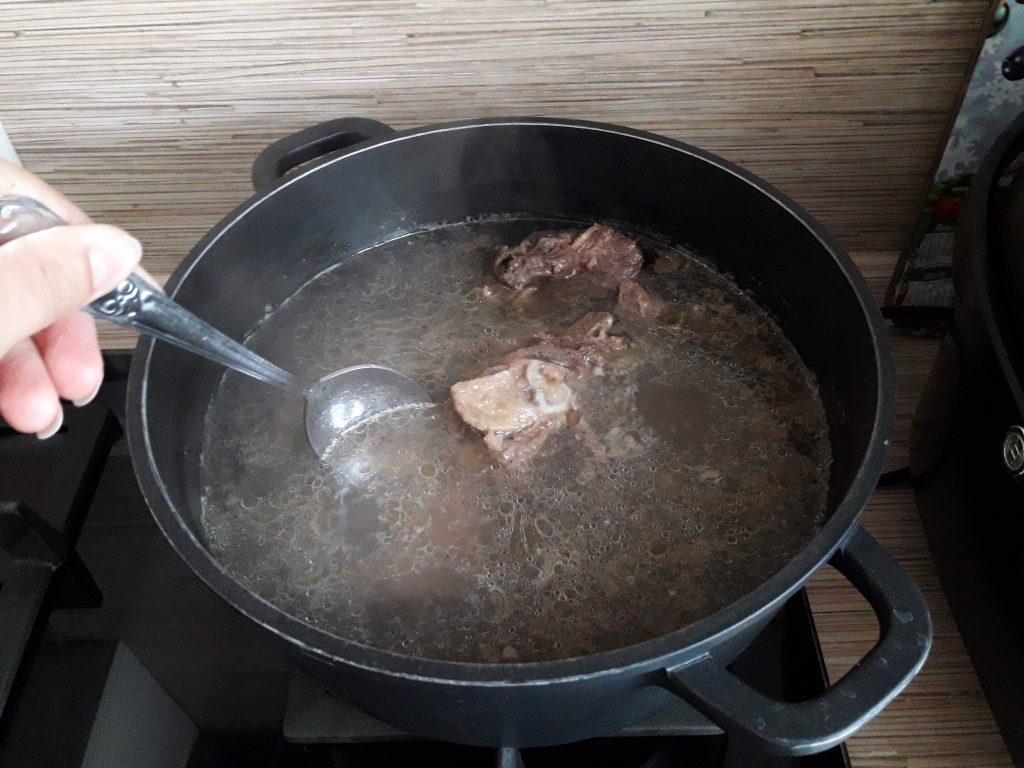Фото рецепта - Борщ с говядиной - шаг 1