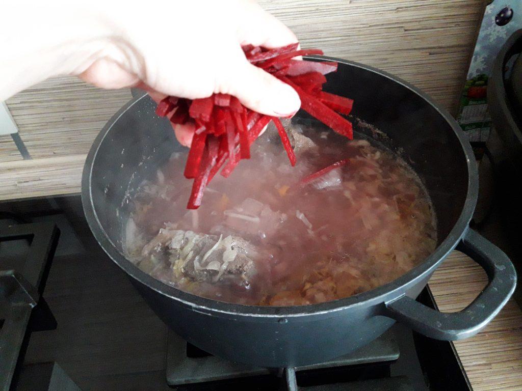 Фото рецепта - Борщ с говядиной - шаг 7