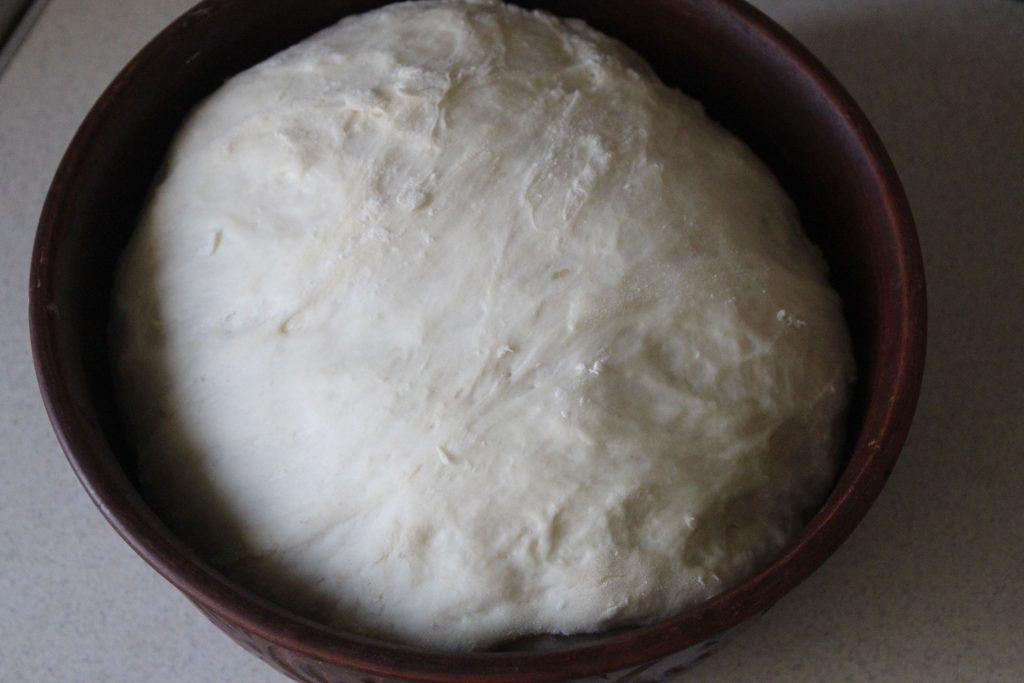 Фото рецепта - Чесночный хлеб к томатному супу или борщу - шаг 3