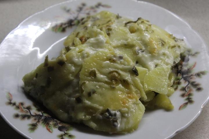 Фото рецепта - Картофельный эскалоп с грибами (гратен) - шаг 10