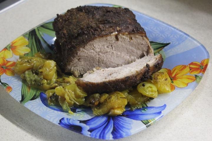 Фото рецепта - Свиная буженина на луковой подушке - шаг 9