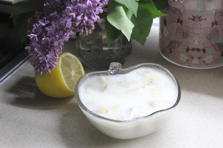 Фото рецепта - Молочное желе с бананом - шаг 5