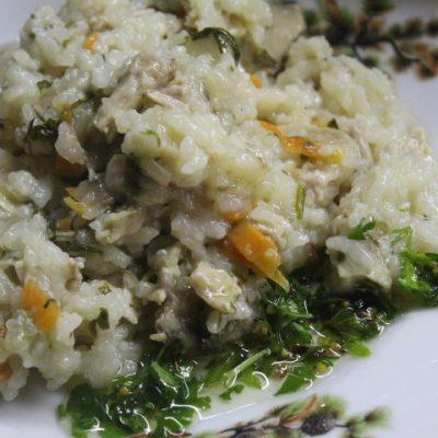 Рис с овощами и курицей в духовке (в горшочке) - рецепт с фото