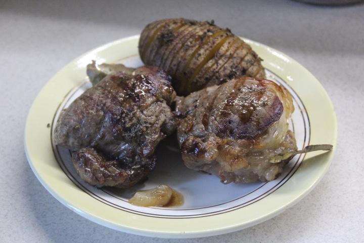 Фото рецепта - Свиные медальоны-гриль в пряностях - шаг 6