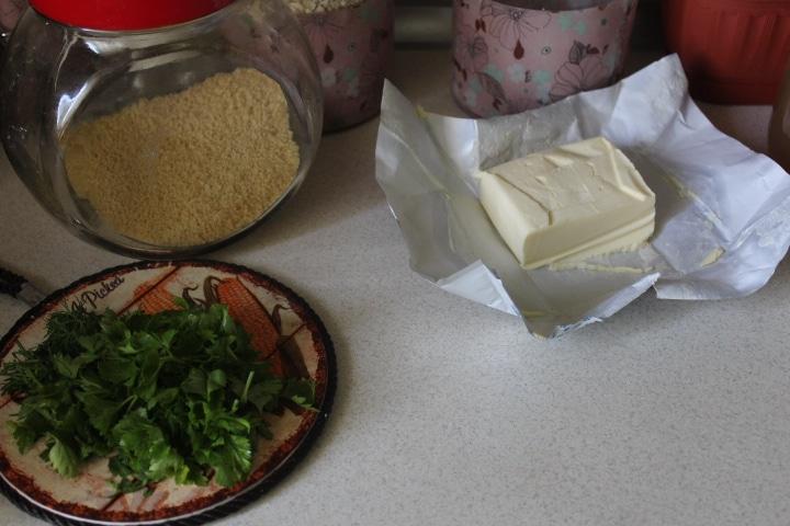Фото рецепта - Нежный сливочный суп с кускусом и грудкой - шаг 4