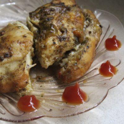 Куриная грудка в сладком соусе, запеченная в фольге - рецепт с фото